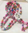 CREATEME™ Kids Colorful Polymer Clay Beads Rosary