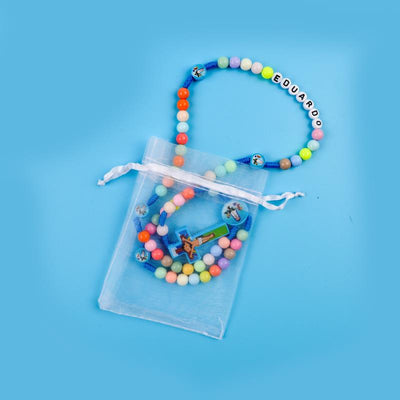 CREATEME™ MY FIRST ROSARY - Kids Custom Name Rainbow Rosary