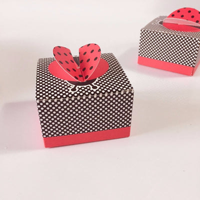 CREATEME™ Ladybug Party Favor Boxes