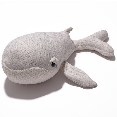 big stuffed whale, nursery room decor, plush large whale nordice theme, stuffed whale with droopy eyes