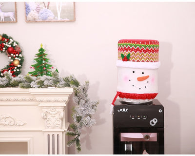 Christmas Water Cooler Decoration - Office Christmas Must Have!