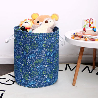 spaceship laundry bin toy storage basket little boys room