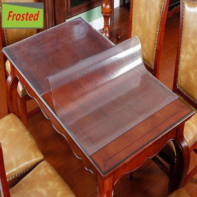 rectangle table protector table protector 1.5mm custom made pvc good quality table cover custom made