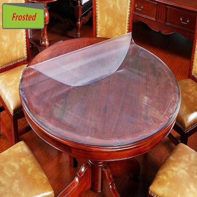 round table protector , table protector 1.5mm custom made pvc good quality table cover custom made oval table top protectors