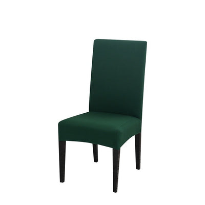spandex dining chair slipcover forest green color stretch