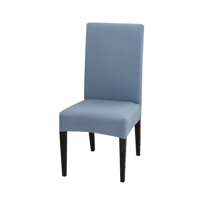 spandex dining chair slipcover cool grey color stretch