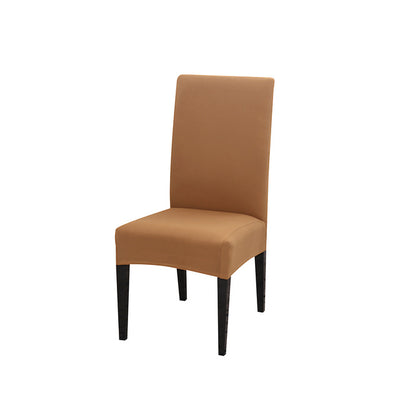 spandex dining chair slipcover sand color stretch