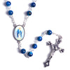 our lady of grace blue stone rosary- stone rosary blue winfinity brands free shipping world wide