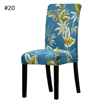 Modern Spandex Dining Chair Covers