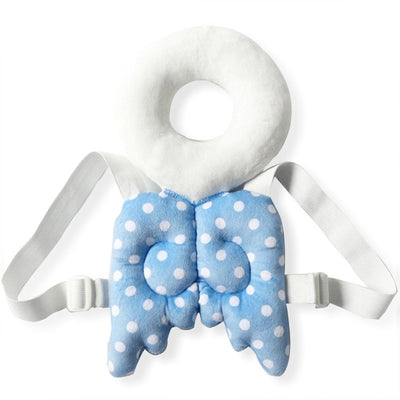 baby boy angel head and back cushion harness backback