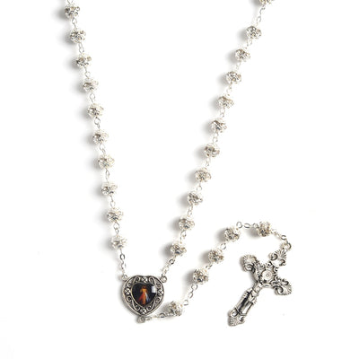 catholic rosary metal beautiful jesus with cross - winfinity brands - free shipping world wide