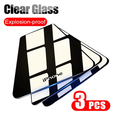 iPHONE Tempered Glass Screen Protector(s) (MODELS: 6. 6S, 7.8. XR. XS, MAX MAX, 11, 11PRO)