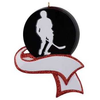 Personalized Men's, Hockey Ornament , Christmas Tree Decoration, Sports souvenir