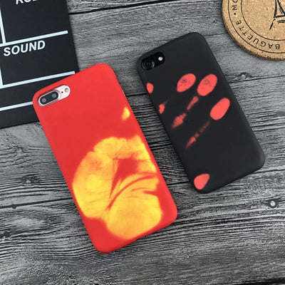 red or black color changing iPhone case