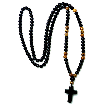 Handcrafted Timber Men's Rosary