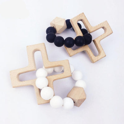 Baby's First Rosary - Silicone Teething Ring