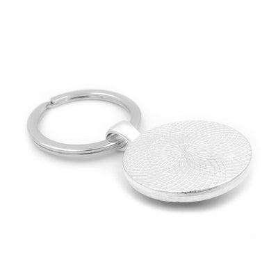 CREATEME™ Personalized Custom Photo Key Chain Ring