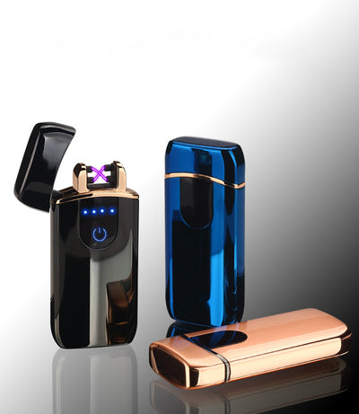 premium good quality usb lighter - rechargeable windproof lighter gift with personalization - winfinity brands