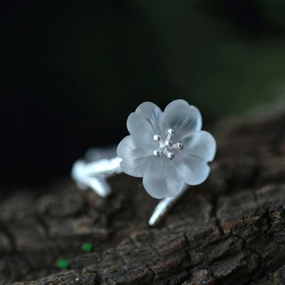 unique lotus flower ring, handmade lotus flower rings