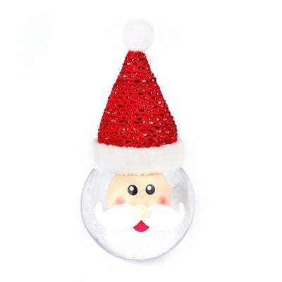 snow globe christmas ornament, santa
