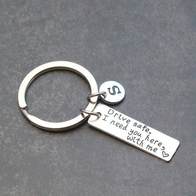 drive safe i need you here with me key chain - winfinity brands