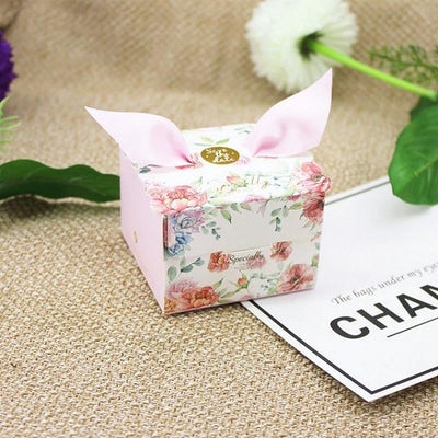 save the date, party favor marble boxes, engagement party gift boxes. floral boxes