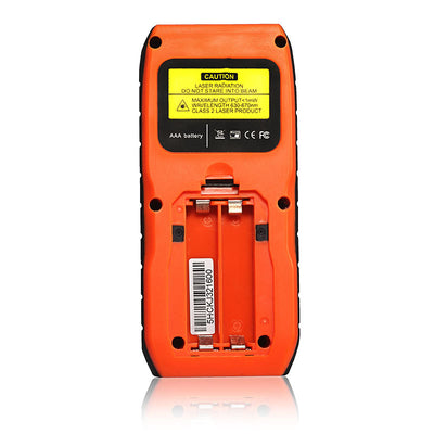 Electronic Measuring Tape for Distance, Area, and Volume orange Lomvum