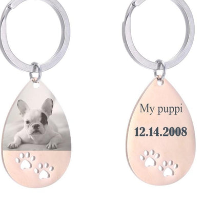 CREATEME™ Personalized Doggy Key Chain
