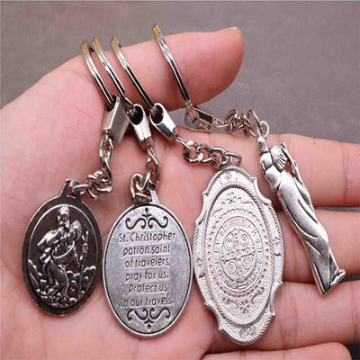 Premium St. Christopher Key Chain