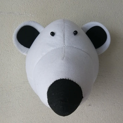 Crazy Creatures Boy's Room - Handmade Faux Animal Heads