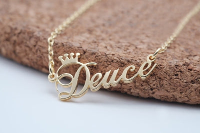 CREATEME™ Personalized Royal Name Necklace