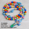 kids rosary, rosary, boy rosary, baptism rosary, communion rosary, boy communion, rainbow rosary, kids rosary winfinity brands