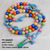 My First Rosary - Children's Rainbow Bright Rosary - No Custom Name Can Be Added