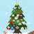 CREATEME™ Two Tone Family Felt Christmas Tree