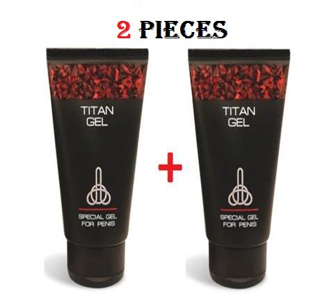 2 piece titan gel for men guaranteed original from russia gel titan