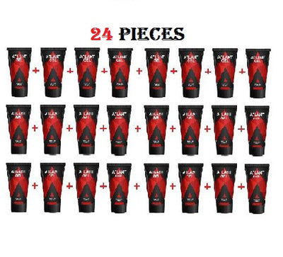 24 PIECE ATLANT GEL FOR MEN GUARANTEED ORIGINAL FROM RUSSIA