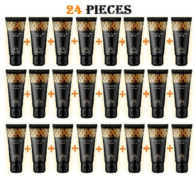 24 PIECE TITAN GEL GOLD FOR MEN GUARANTEED ORIGINAL FROM RUSSIA