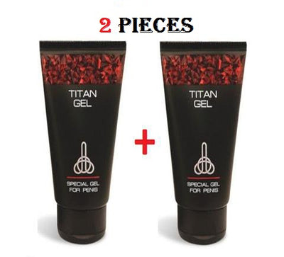 2 PIECE TITAN GEL FOR MEN GUARANTEED ORIGINAL FROM RUSSIA
