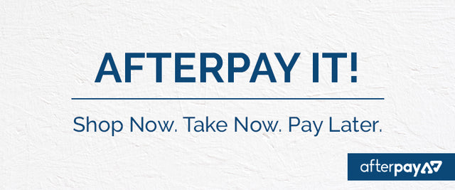Afterpay! Shop Now, take now, pay later