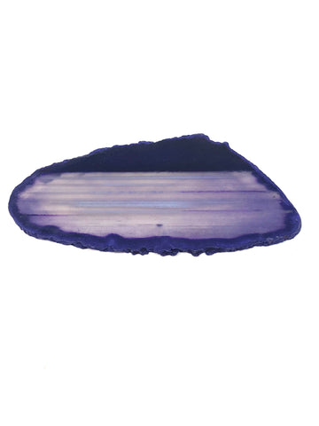 purple agate slice