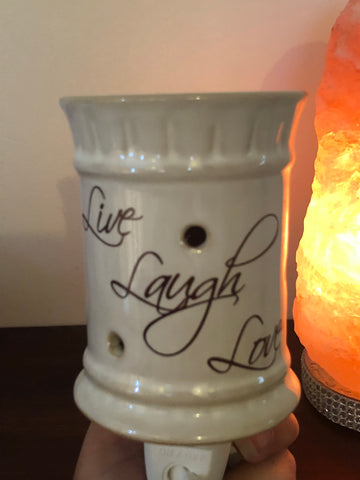 Live, Laugh, Love Plug In Melt Warmer