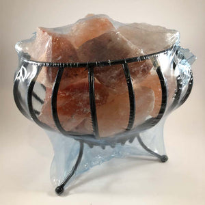 Wire Cage Salt Lamp