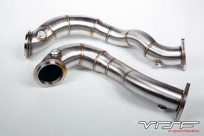 VRSF 3″ Stainless Steel Catless Downpipes N54 07-11 BMW 335Xi E90/E92