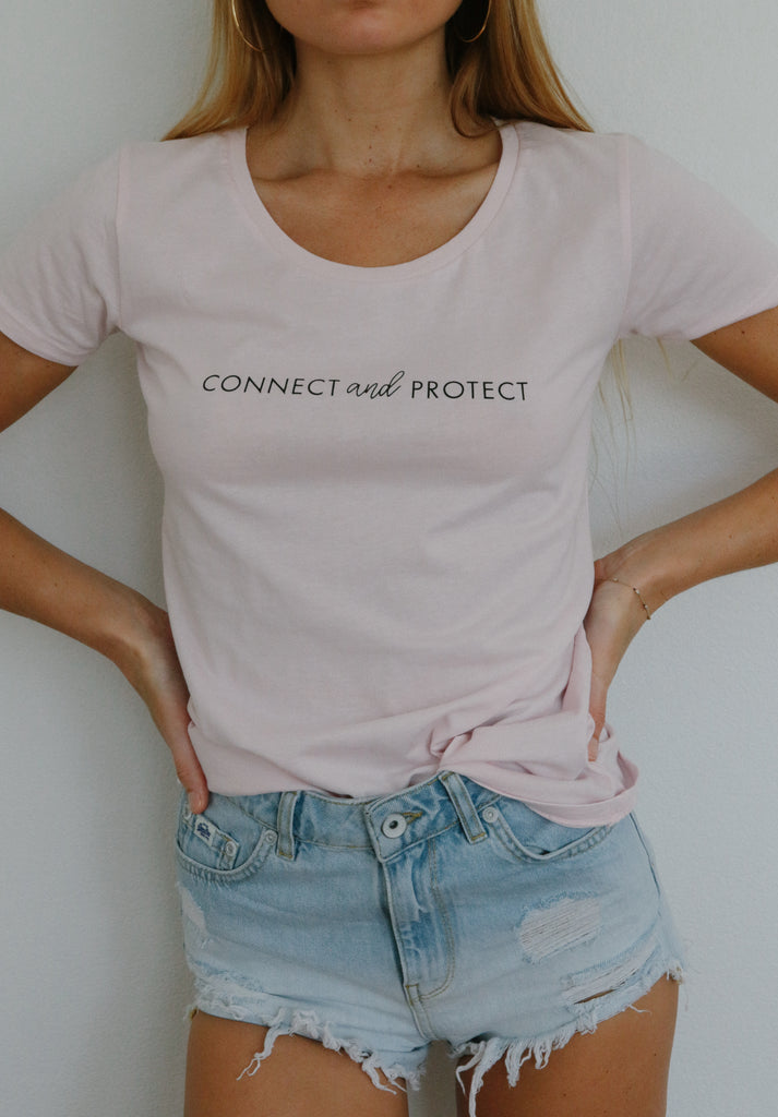 Connect and Protect (pink)