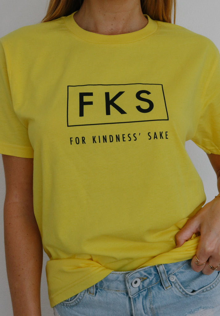 FKS - For Kindness' Sake (yellow)