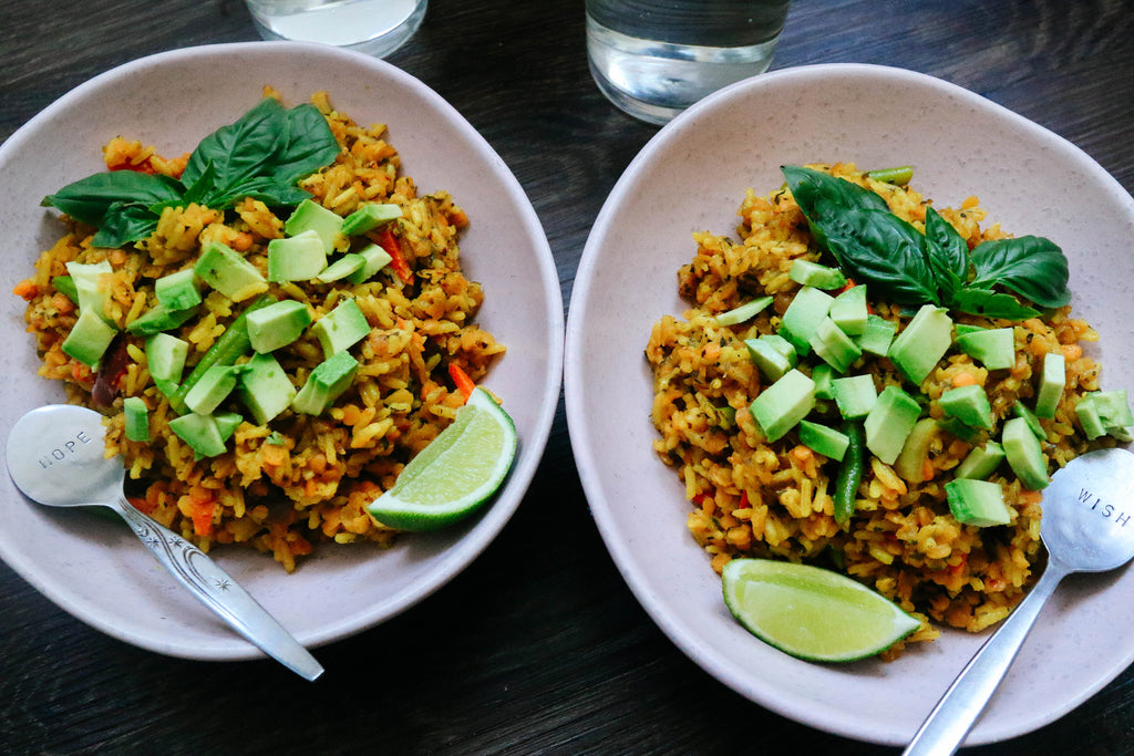 Turmeric & Avocado Fried Rice