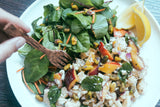 Cauliflower & Nectarine Salad