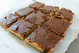 Raw Vegan Coconut & Caramel Slice