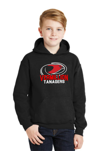 Vermillion Tanagers Mascot Youth Sweatshirt