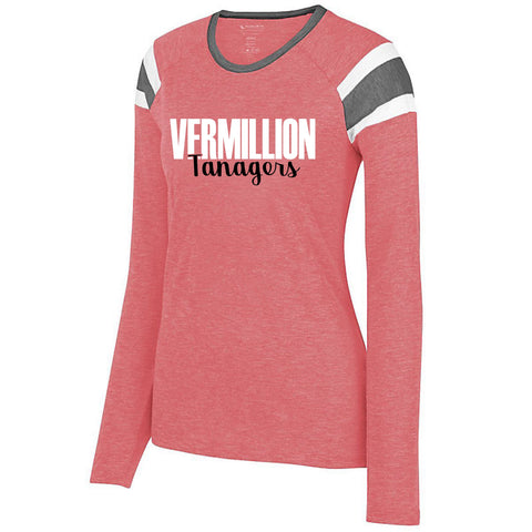 Vermillion Tanagers Fanatic Long-Sleeved Tee
